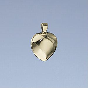 14K Gold Heart Pendant