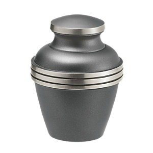 Ashen Pewter Keepsake Cremation Urn