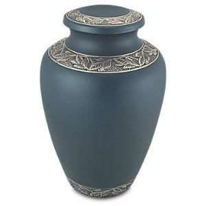Blue Delphia Cremation Urn