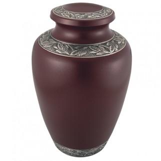 Crimson Delphia Cremation Urn