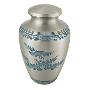 Delphia Wings Cremation Urn