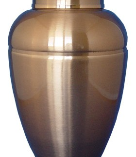Lincoln Copper Stainless Steel Cremation Urn