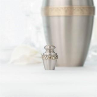 Milano Floral Keepsake Cremation Urn