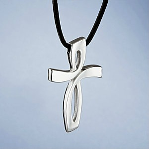 Nambe Cross Cremation Keepsake Jewelry