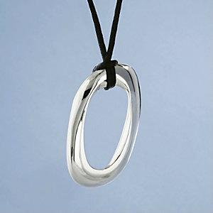 Nambe Oval Cremation Keepsake Jewelry