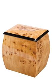 Oblique Treasure Chest Cremation Urn